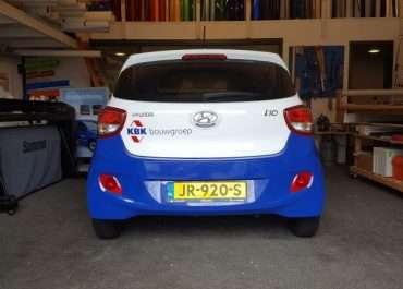 Bestickering Personenauto KBK Bouwgroep