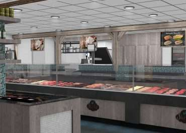 3D Visualisatie winkel Sterkip