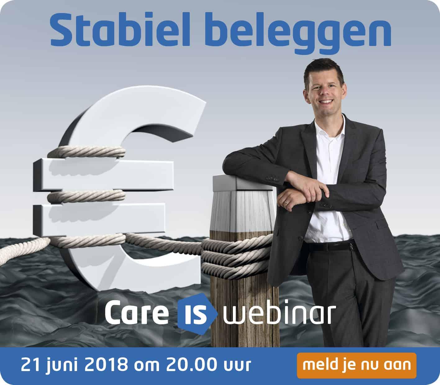 Advertentie Webinar Care IS