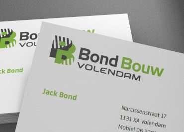 Logo en huisstijl Bond Bouw