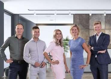 Groepsfoto NBC van Roemburg en partners