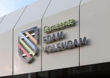 LED-lichtreclame voor gemeente Edam-Volendam