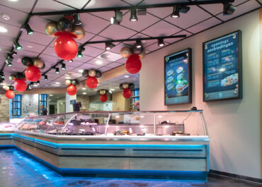Ontwerp winkel en website Vishandel de Spijker